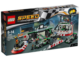 LEGO®  Speed Champions MERCEDES AMG PETRONAS Formula One™ Team 75883