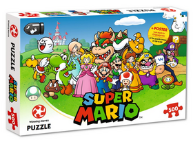 Mario and Friends puzzle 500db-os