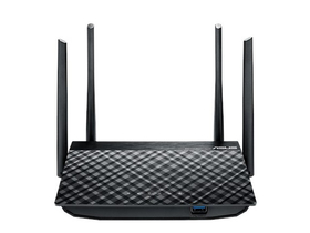 Asus RT-AC58U AC1300 dvojpásmový gigabit wifi router, USB3.0 port