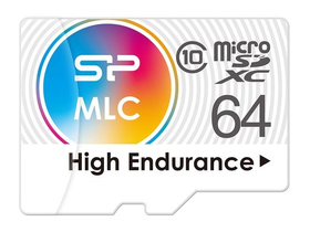 Silicon Power microSDX 64GB High Endurance memóriakártya