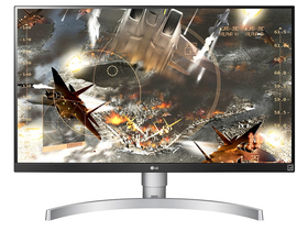 LG 27UK650-W IPS UltraHD LED Monitor