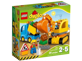 LEGO® DUPLO® 10812 Tovornjak in bager na gosenicah