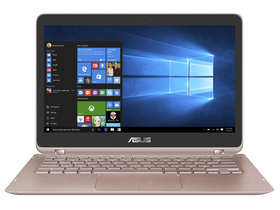 "Laptop Asus Zenbook UX360UA-C4161T 13,3"", roz + Windows10, layout HU"