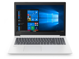 "Notebook Lenovo IdeaPad 330 81D100ABHV 15,6"", alb + Win10 (tastatura layout HU)"