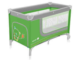 Baby Design Holiday potovalna postelja, green