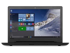 Lenovo Ideapad 110-15ACL 80TJ009MHV notebook, fekete + Windows10