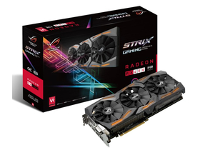 Asus AMD Strix RX 480 8GB GDDR5 grafická karta - STRIX-RX480-8G-GAMING