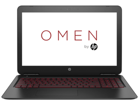 HP Omen 15-ax004nh 1DM16EA notebook, fekete + Windows10