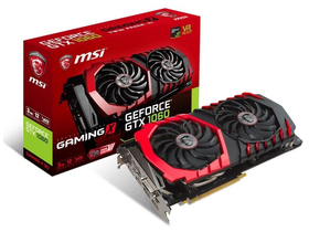 Placa video MSI nVidia GTX 1060 3GB GDDR5  - GeForce GTX 1060 GAMING X 3G