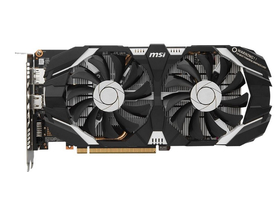 Placa video MSI nVidia GTX 1060 6GB GDDR5  - GeForce GTX 1060 6GT OCV1