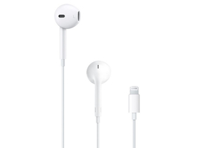 Casti Apple EarPods conector lightning (mmtn2zm/a)
