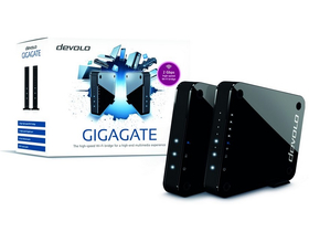 Devolo GigaGate Starter Kit 5-portový wifi bridge