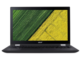 Acer Spin3 SP315-51-56N7 NX.GK9EU.002 notebook, čierny+ Windows10, HU klávesnica