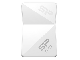 Silicon Power Touch T08 64GB USB 2.0 pendrive, fehér (SP064GB USB 2.0UF2T08V1W)