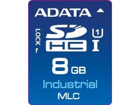 ADATA IDC3B MLC, SD Card, 8GB, (-40 to +85C)
