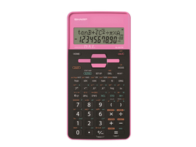 Calculator de birou Sharp EL531 272, pink