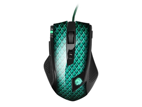 Mouse Sharkoon Drakonia Gamer, cu model solzi