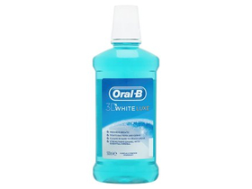 Oral-B 3D White Lux ústna voda (500ml)