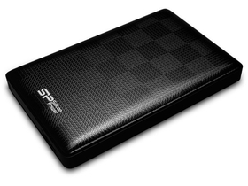 "Външен хард диск Silicon Power Diamond D03 (SP500GBPHDD03S3K) 500GB 2.5"" USB 3.0,Черен"