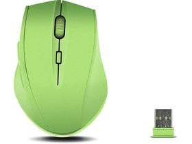 Mouse wireless Speedlink CALADO Silent cauciucat, verde
