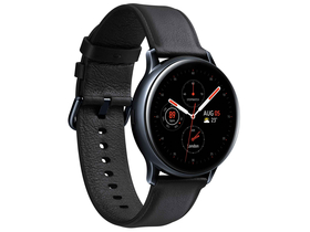Samsung Galaxy Watch Active 2 okosóra (40mm, Stainless Steel), fekete