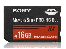 Sony MSHX16B MS PRO HG DUO 16GB bez adapteru