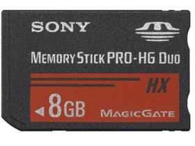 Карта памет Sony MSHX8B MS PRO HG DUO 8GB без адаптер