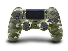 PlayStation 4 (PS4) Dualshock 4 V2 Wireless Controller, grün-camouflage