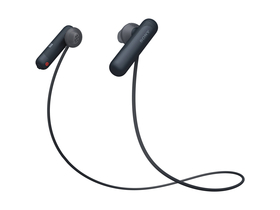 Casti Sony WI-SP500 Bluetooth sport, negru