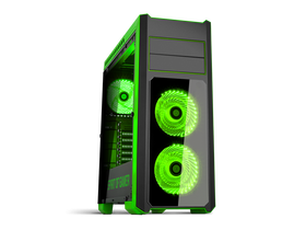 Spirit of Gamer ROGUE 3 Green PC skrinka