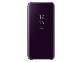 Husa Samsung Galaxy S9 clear view cover, violet