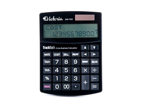 Calculator Victoria GVA-7422 2 randuri, negru