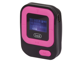 MP3 player TREVI TREVI MPV 1705SR, roz/negru