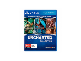 Uncharted The Nathan Drake Collection PS4 hrací softvér