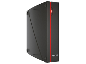 ASUS VivoPC X M80 SFF, Intel Core i5-7300HQ (2,5GHz),8GB,1TB HDD+256GB M.2 Sata SSD, NV GTX 1060,Win10, черен