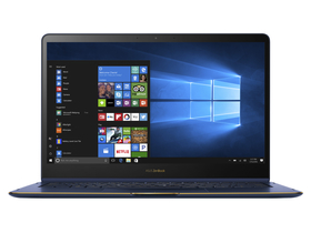 Laptop Asus Zenbook UX370UA-C4228R, albastru Windows 10 Pro, layout tastaura HU
