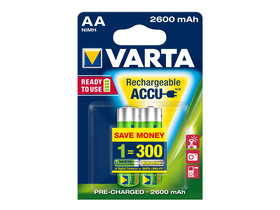 Varta Ready2use NiMh 2600mAh AA 2ks