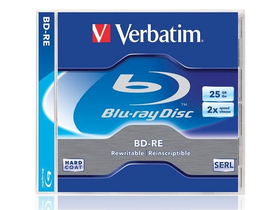 BD-RE Blu-Ray 25GB, 1-2x