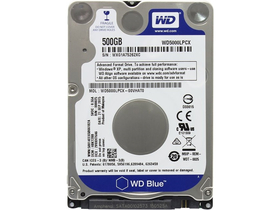 "WD Blue 2,5"" 500GB notebook merevlemez - WD5000LPCX (Western Digital)"