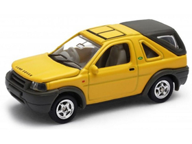 Masinuta Welly Land Rover Freelander  , (1:60-64), galben