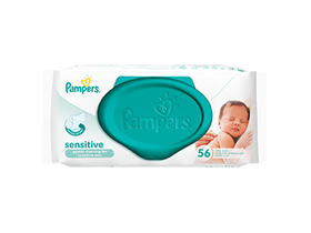 Pampers Sensitive törlőkendő (56db)
