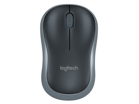 Mouse optic wireless Logitech M185 Wireless, argintiu