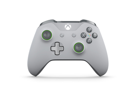 Controller Xbox One, gri/verde