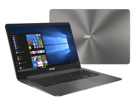 Asus ZenBook UX530UX-FY048T notebook, ezüst + Windows 10 Home