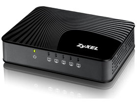 Zyxel 5 Port Desktop Gigabit Ethernet Media Switch