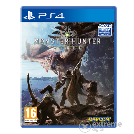 Monster Hunter: World  PS4 játékszoftver