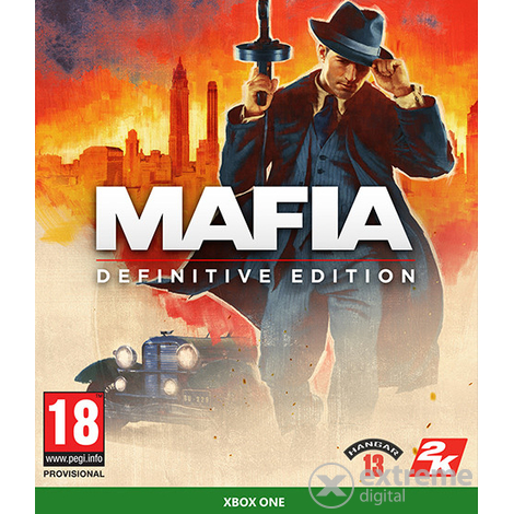 Mafia: Definitive Edition Xbox One játékszoftver
