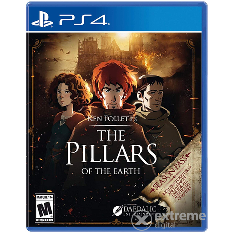 The Pillars of the Earth PS4 játékszoftver