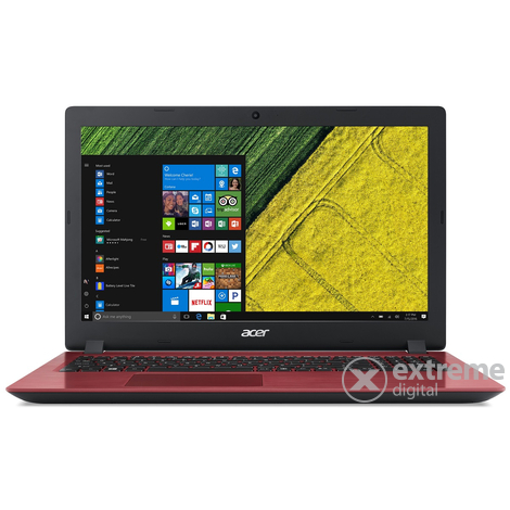 "Acer Aspire A315-33-C2J5 NX.H64EU.004 15,6"" notebook, piros + Win10"