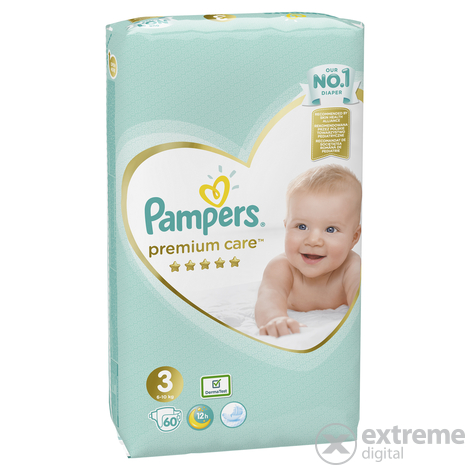 Pampers Premium Care pelenka 3 midi 60 db